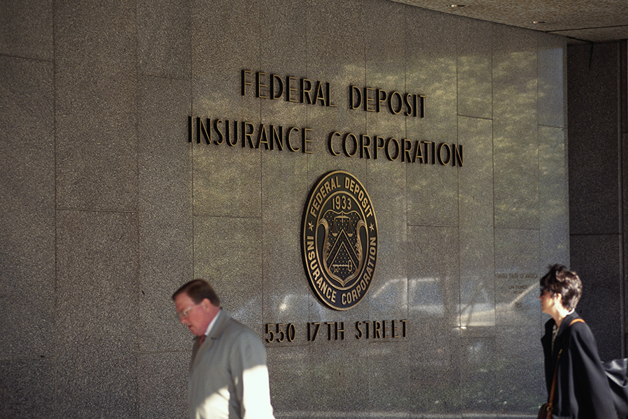 The Federal Deposit Insurance Corporation Building in Washington, D.C.