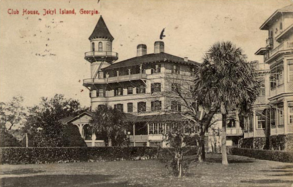 The old clubhouse, Jekyll Island, Georgia.