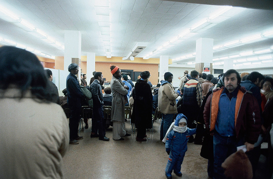 Bureau of Unemployment, Chicago, December 1981